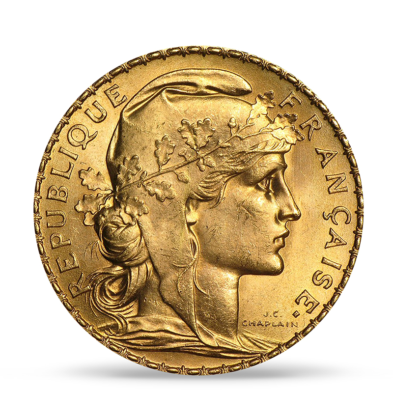 france-gold-20-rooster-front