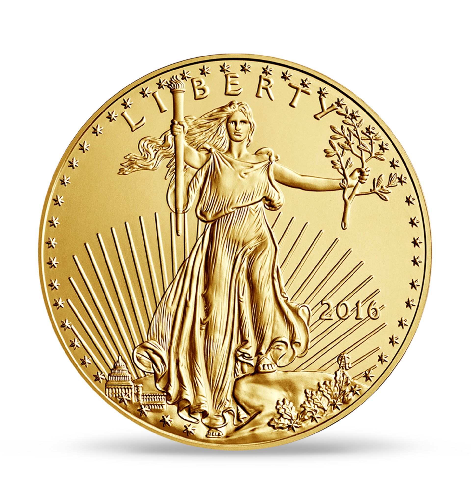 quater-gold-american