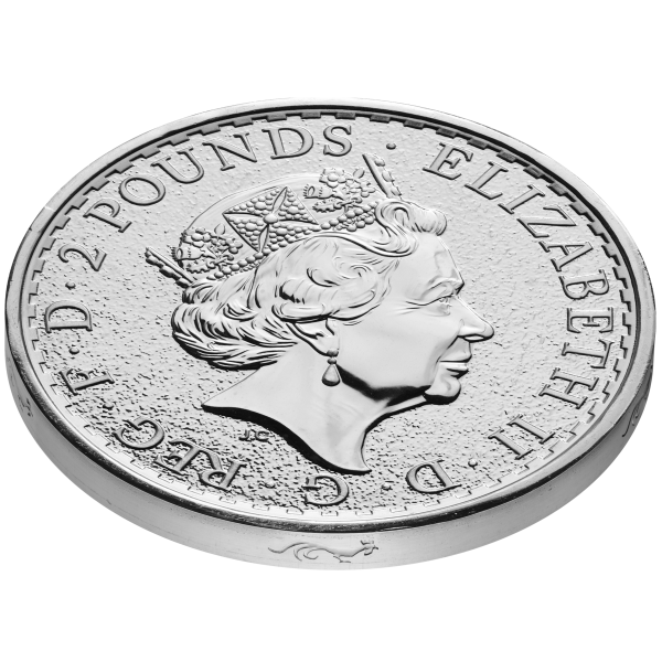 Silver 1oz 2017 Britannia edged bullion YOTR +óGé¼GÇ£ edge profile obv uks04899