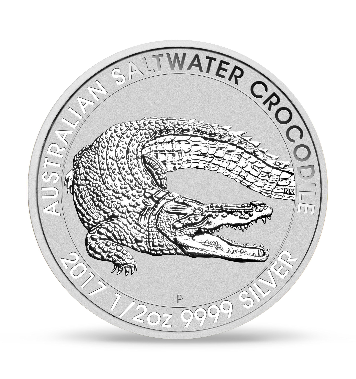 Silver Saltwater Croc bc