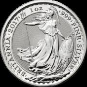 Silver 1oz 2017 Britannia edged bullion YOTR rev uks04899