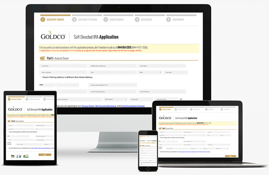 Goldco Application